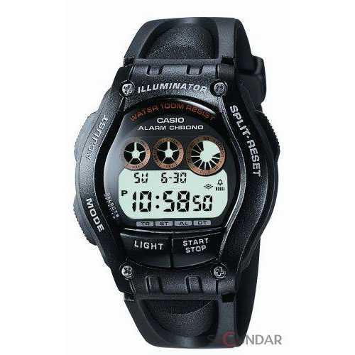 Ceas Casio Standard Digital W-754H-1AVDF Barbatesc