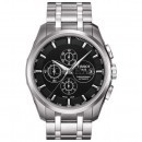 Tissot Couturier Automatic Chrono Steel Black