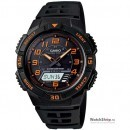 Ceas original Casio SPORT AQ-S800W-1B2V Tough Solar