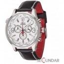 Ceas Detomaso AURINO Chronograph Leather Silver/White DT1061-I Barbatesc