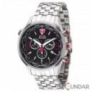 Ceas Detomaso AURINO Chronograph Silver/Black DT1061-E Barbatesc