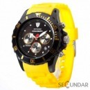 Ceas Detomaso COLORATO Chrono Black/Yellow DT2019-M Barbatesc