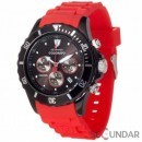 Ceas Detomaso COLORATO Chronograph Black/Red DT2019-B Barbatesc