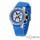 Ceas Detomaso DT1017-C Lucca Chronograph Blau Barbatesc