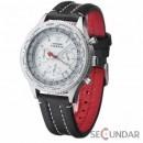 Ceas Detomaso Firenze Black/White SL1624C-CH Barbatesc