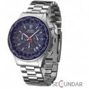 Ceas Detomaso FIRENZE Chronograph Blue Dial Steel SM1624C-BL Barbatesc