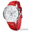 Ceas Detomaso MILANO Chronograph White/Red DT1052-F Barbatesc