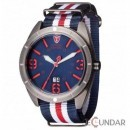Ceas Detomaso SANGRO Titanium/Blue DT1062-D Barbatesc