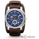 Ceas Fossil FS4793 Machine Chronograph Leather Watch Espresso Barbatesc