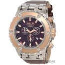 Ceas Invicta 10083 Subaqua Chronograph Brown Textured Barbatesc