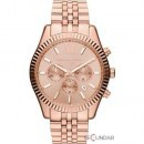 Ceas Michael Kors MK8319 Lexington Chronograph Rose Dial Barbatesc