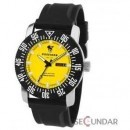 Ceas Poseidon 6010yel Chrono Silicon Yellow Barbatesc