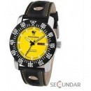 Ceas Poseidon 6011yel Chrono Silicon Yellow Barbatesc