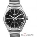 Ceas Timex Originals T2N399 T Series Black Dial Steel Expander Barbatesc
