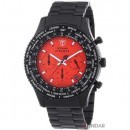 Ceas Detomaso Firenze Black/Red Steel SM1624C-RD Barbatesc