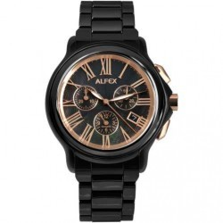 Ceas Alfex 5629_795 Classic Black Dial Barbatesc imagine mica