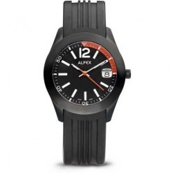 Ceas Alfex 5648_696 Sport Casual Black Collection Barbatesc imagine mica