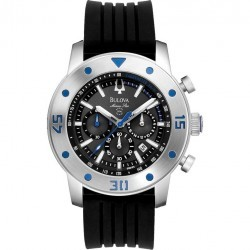 Ceas Bulova Marine Star Collection 98B165 imagine mica