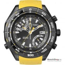 Ceas original Timex EXPEDITION E-ALTIMETER T49796,T2N730 Intelligent Quartz imagine mica