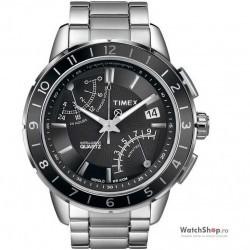 Ceas original Timex SL-SERIES T2N498 Fly Back Intelligent Quartz imagine mica