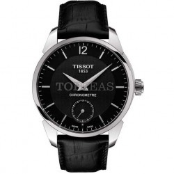Tissot T-Complication COSC Steel Black imagine mica
