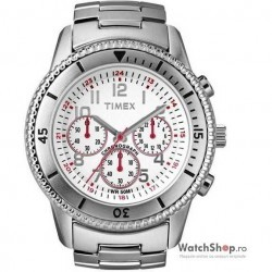 Ceas original Timex CHRONO T2N160 Milan imagine mica