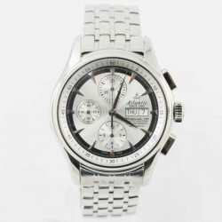 "Ceas Atlantic Worldmaster 1888 ""Lusso"" Chronograph Automatic Limited Edition 52850.41.21SM imagine mica"