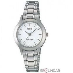 Ceas Casio CLASIC MTP-1128A-7ARDF White Dial Barbatesc imagine mica