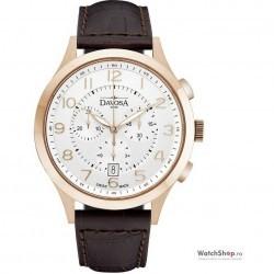 Ceas original Davosa METROPOLITAN 16243466 Cronograf imagine mica