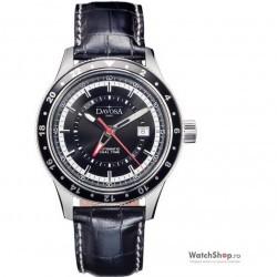 Ceas original Davosa WORLD TRAVELLER 16150155 imagine mica