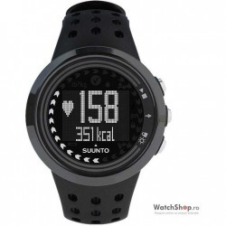 Ceas original Suunto TRAINING M5 SS018260000 All Black imagine mica
