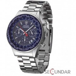 Ceas Detomaso FIRENZE Chronograph Blue Dial Steel SM1624C-BL Barbatesc imagine mica