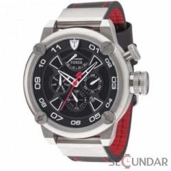 Ceas Detomaso FORZA Automatic Silver/Black DT2056-A Barbatesc imagine mica