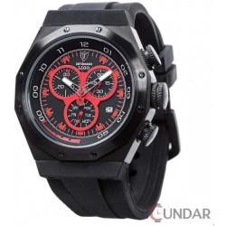Ceas Detomaso LAGO Chronograph Red/Black DT2025-C Barbatesc imagine mica