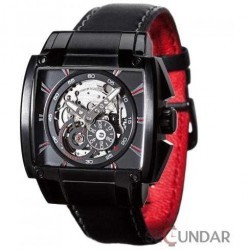 Ceas Detomaso METAURO Automatic Black/Black DT2048-B Barbatesc imagine mica