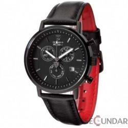 Ceas Detomaso MILANO Chronograph Black/Black DT1052-J Barbatesc imagine mica