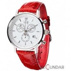 Ceas Detomaso MILANO Chronograph White/Red DT1052-F Barbatesc imagine mica