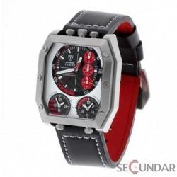 Ceas Detomaso TORINO Chronograph 3 Timezone Silver DT1013-B Barbatesc imagine mica