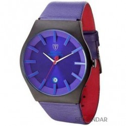Ceas Detomaso Viareggio Black/Purple DT1049-E Barbatesc imagine mica