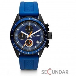 Ceas Fossil CH2879 Decker Chronograph Silicone Barbatesc imagine mica