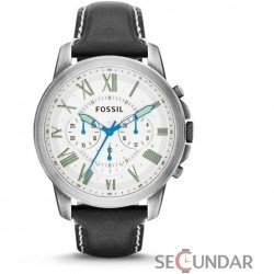 Ceas Fossil FS4921 Grant Chronograph Barbatesc imagine mica