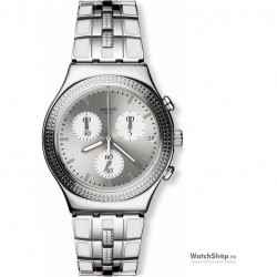 Ceas original Swatch IRONY YCS580G Crystal Cascade imagine mica