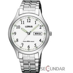 Ceas Lorus RXN91BX9 Classic White Dial Barbatesc imagine mica