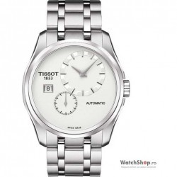 Ceas Tissot T-TREND T035.428.11.031.00 Couturier Automatic Small Second imagine mica