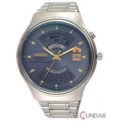 Ceas Orient Sporty Automatic FEU00002KW Multi-Year Calendar Silver Barbatesc imagine mica