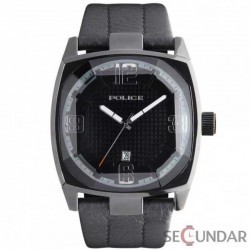 Ceas Police PL 12963JSB-02 Edge Black Leather Barbatesc imagine mica