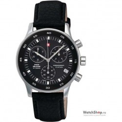 Ceas Swiss Military by CHRONO 17700ST-1L Cronograf imagine mica