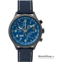 Ceas Timex INTELLIGENT QUARTZ T2P380 Fly Back Cronograf imagine mica