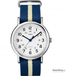 Ceas Timex WEEKENDER T2P142 Slip Thru imagine mica