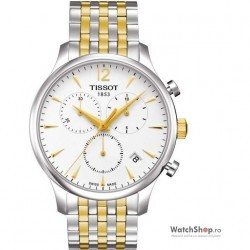 Ceas Tissot T-CLASSIC T063.617.22.037.00 Tradition Cronograf imagine mica